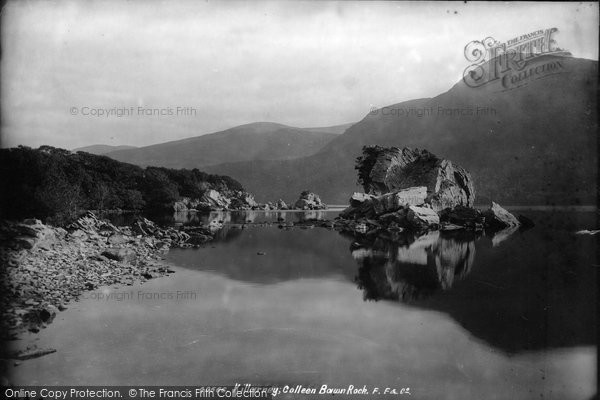 Photo of Killarney, Middle Lake, Colleen Bawn Rock 1897