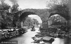 Old Weir Bridge, Shooting The Rapids c.1890, Killarney