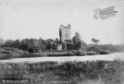 Ross Castle From The Lake 1897, Killarney