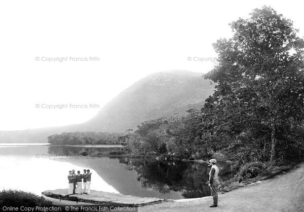 Photo of Killarney, Torc Mountain And Landing Place 1897