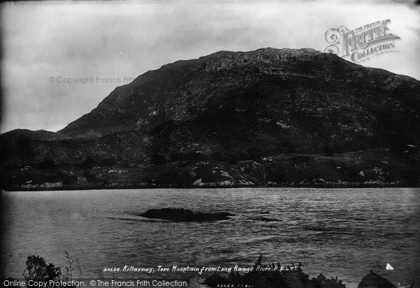 Photo of Killarney, Torc Mountain From Long Range River 1897