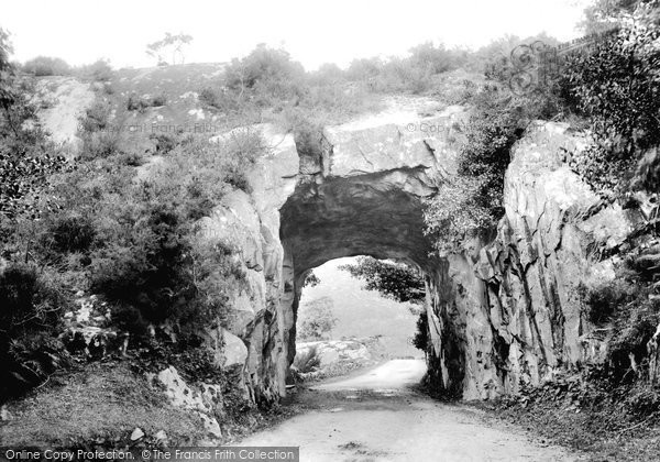 Photo of Killarney, Tunnel On The Kenmare Road 1897