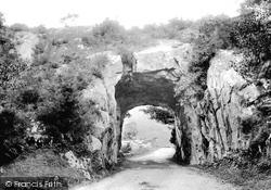 Tunnel On The Kenmare Road 1897, Killarney