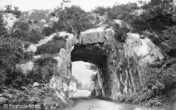 Killarney, Tunnel On The Road c.1863