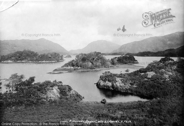 Photo of Killarney, Upper Lake And Islands 1897