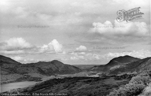 Photo of Killarney, Upper Lake And Long Range From The Ladies' View c.1955