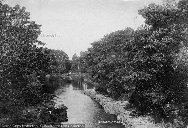 Photo of Killarney, View From Old Weir Bridge 1897