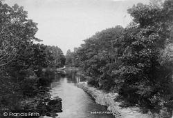 View From Old Weir Bridge 1897, Killarney
