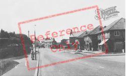 Killay, Gower Road c.1955