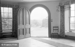 Killerton, Hall Entrance, Killerton House c.1950