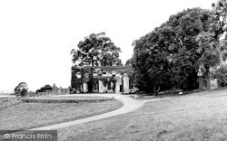 Killerton, House From The Drive c.1950