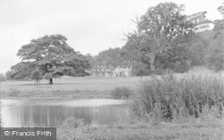 Killerton, House From The Lake c.1950