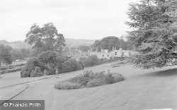 Killerton, House From The Lawns c.1950