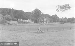 Killerton, House From The Park c.1950