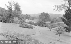 Killerton, House From The Summer House c.1950