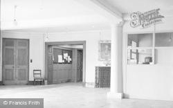 Killerton, The Entrance Hall, Killerton House c.1950