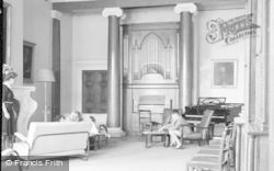 Killerton, The Lounge, Killerton House c.1950