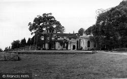 Killerton, The Main Entrance, Killerton House c.1950