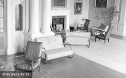 Killerton, The Small Lounge, Killerton House c.1950