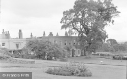 Killerton, Wta Guest House, View Of The Lawns c.1950