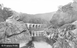 Killiecrankie, Pass, Soldiers Leap c.1900