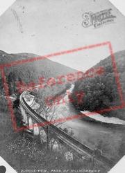 Queens View, Pass Of Killicrankie c.1880, Killiecrankie