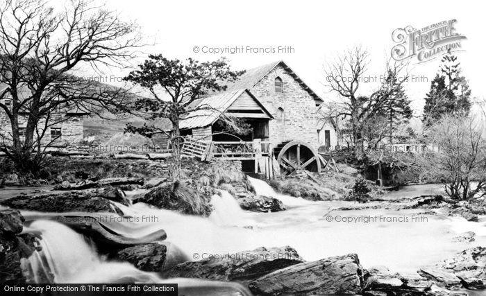 Killin,Mill on the Dochart 1890,Central Scotland