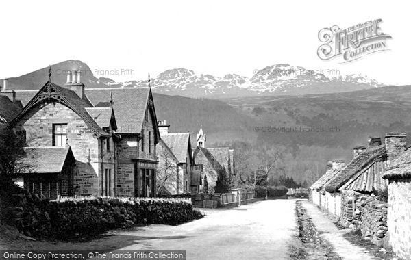 Photo of Killin, The Village c.1890