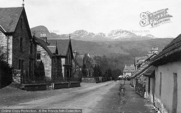 Photo of Killin, The Village c.1890