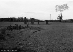 Kilmartin, Ballymeanoch Stone Circle c.1955