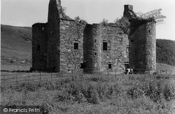 Kilmartin, Castle 1955