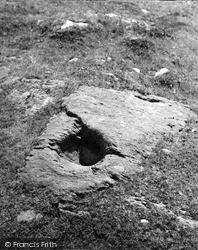 Kilmartin, Dunadd, Stone Basin 1955