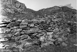 Kilmartin, Stone Wall, Dunadd 1955
