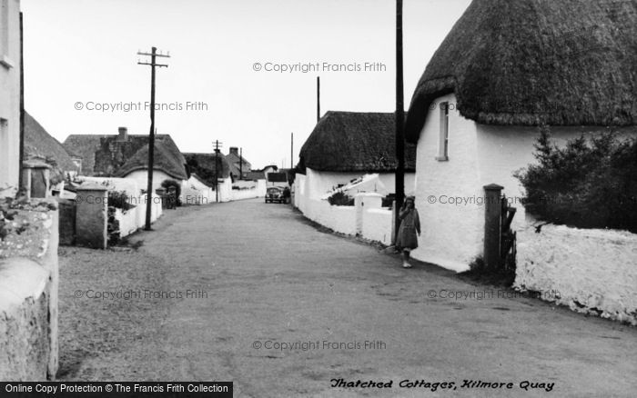 Photo of Kilmore Quay, Thatched Cottages c.1939