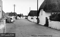 Kilmore Quay, Thatched Cottages c.1939