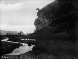 Kilnsey, The Crag 1926