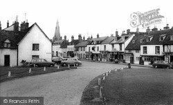 Castle Green And High Street c.1965, Kimbolton