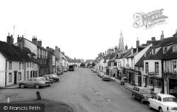 Kimbolton, Castle Green And High Street c.1965