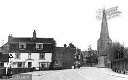 Church Corner c.1955, Kimbolton