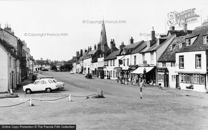Photo of Kimbolton, High Street c.1960