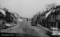 Kimbolton, High Street c.1965