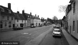 High Street c.1965, Kimbolton