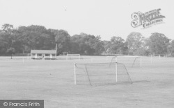 Kimbolton, Playing Field Pavilion c.1965