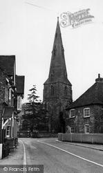 St Andrew's Church c.1955, Kimbolton