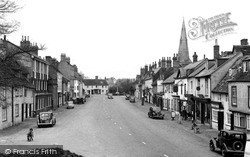 Kimbolton, The Village c.1955