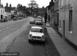 Triumph Herald Car c.1965, Kimbolton