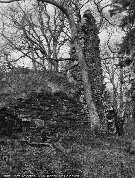 Photo of Kincardine Castle, Ruin c.1950