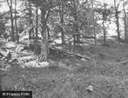 Kincardine Castle, The Remains 1954