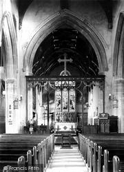 King's Lynn, All Saints Church Interior, South Lynn 1907