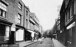 King's Lynn, High Street 1891